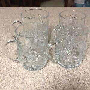 Princess House Crystal Coffee Cups (5)